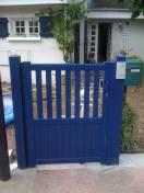 Portillon ALU Paris SIB bleu 5003