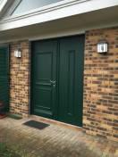 Porte entrée Alu Kline à 2 vtx égaux