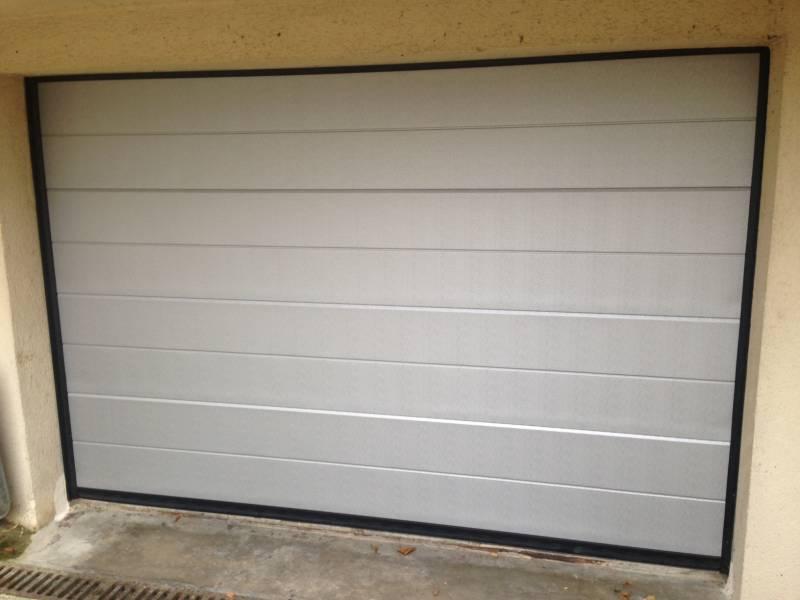 Photothèque Des Réalisations WILCO Results From - Porte de garage sectionnelle avec porte d entree vitree pvc