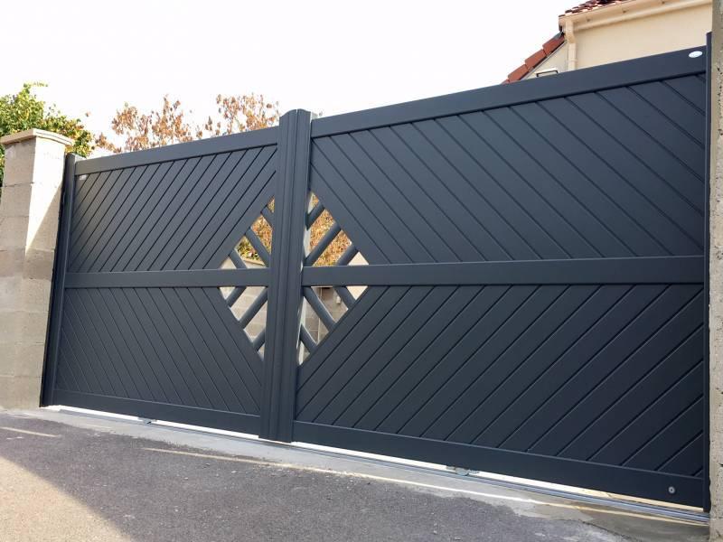 Jeune Devis portail Design en YVELINES, changement portail 78, portail IDF LS-97