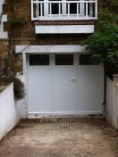 Porte de garage battante SIB 3 vantaux posée au Vésinet