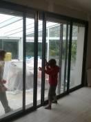 Ouverture d'une baie vitrée 6