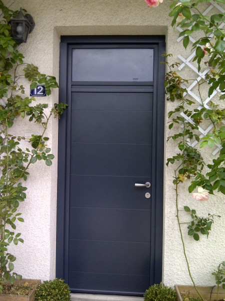 Porte Entree Yvelines Porte Alu Contemporaine Porte Entree Alu 78