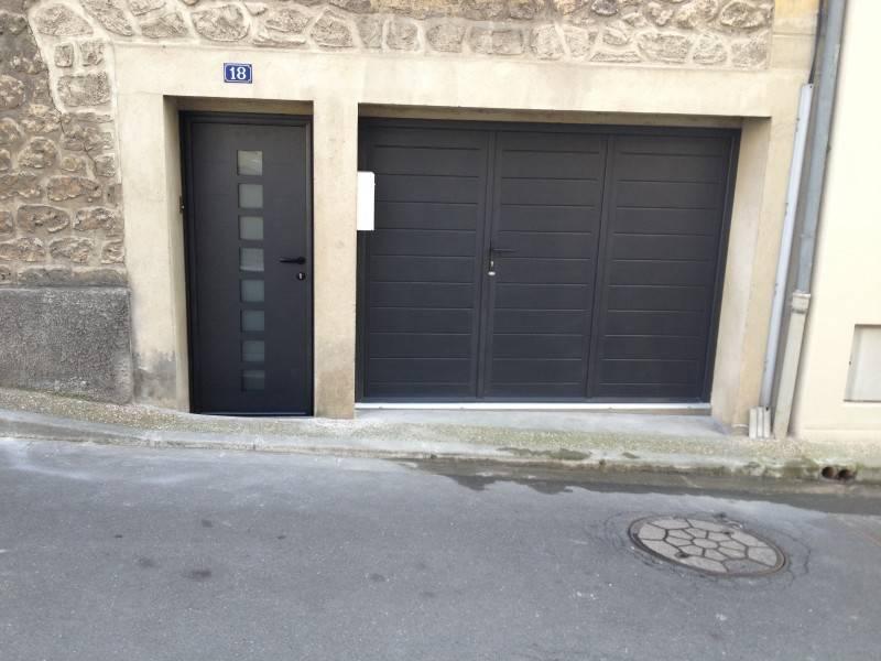 porte entr e yvelines porte alu contemporaine porte On kline porte garage