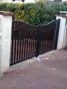 Portail et portillon Alu SIB posés par WILCO à Orgeval 78