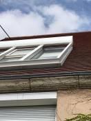 Volets de véranda solaire et isolant blanc
