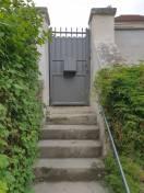 Portillon ALU gris Villennes sur seine