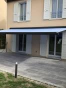 Store banne Onyx bleu Marquises WILCO Vernouillet