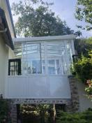 Véranda Extension maison blanc WILCO Villennes sur seine 1