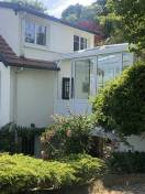 Véranda Extension maison blanc WILCO Villennes sur seine 2