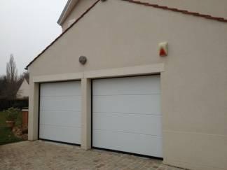porte de garage normstahl porte sectionnelle automatique 78. Black Bedroom Furniture Sets. Home Design Ideas