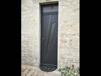 Porte d'entrée ALU Perspective
