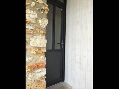 Portes Dentrée Porte Maison Porte Contemporaine Yvelines - Portes de service