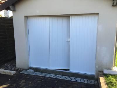 Porte garage battante devis porte battante porte garage - Porte garage isolante ...