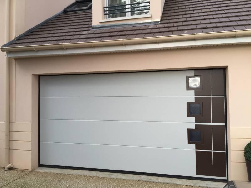 Porte De Garage Porte Sectionnelle Automatique YVELINES Porte - Porte de garage electrique