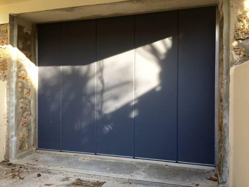 porte de garage 78 porte sectionnelle automatique. Black Bedroom Furniture Sets. Home Design Ideas